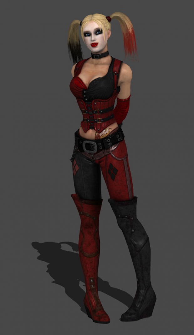 Harley again-maybe make with less exposed skin and maybe ...