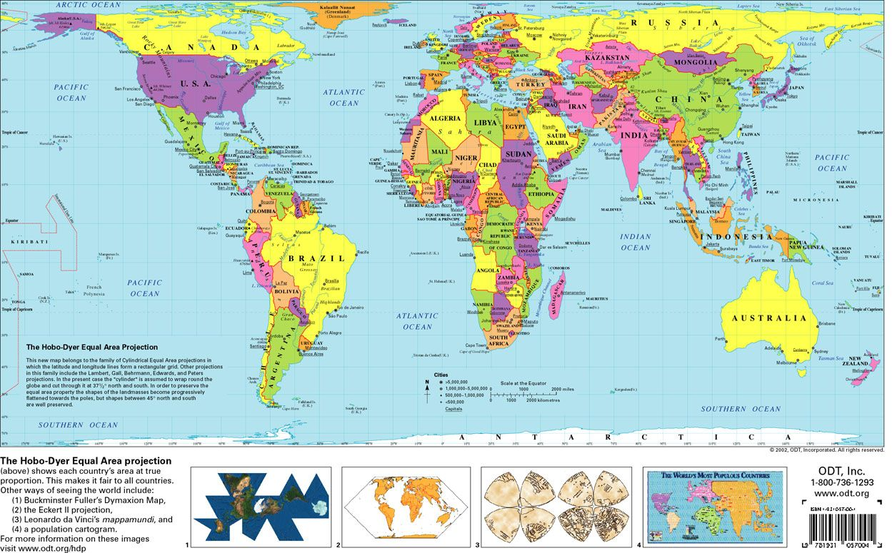 Hobo Dyer Equal Area Projection Love This Map Maps Map