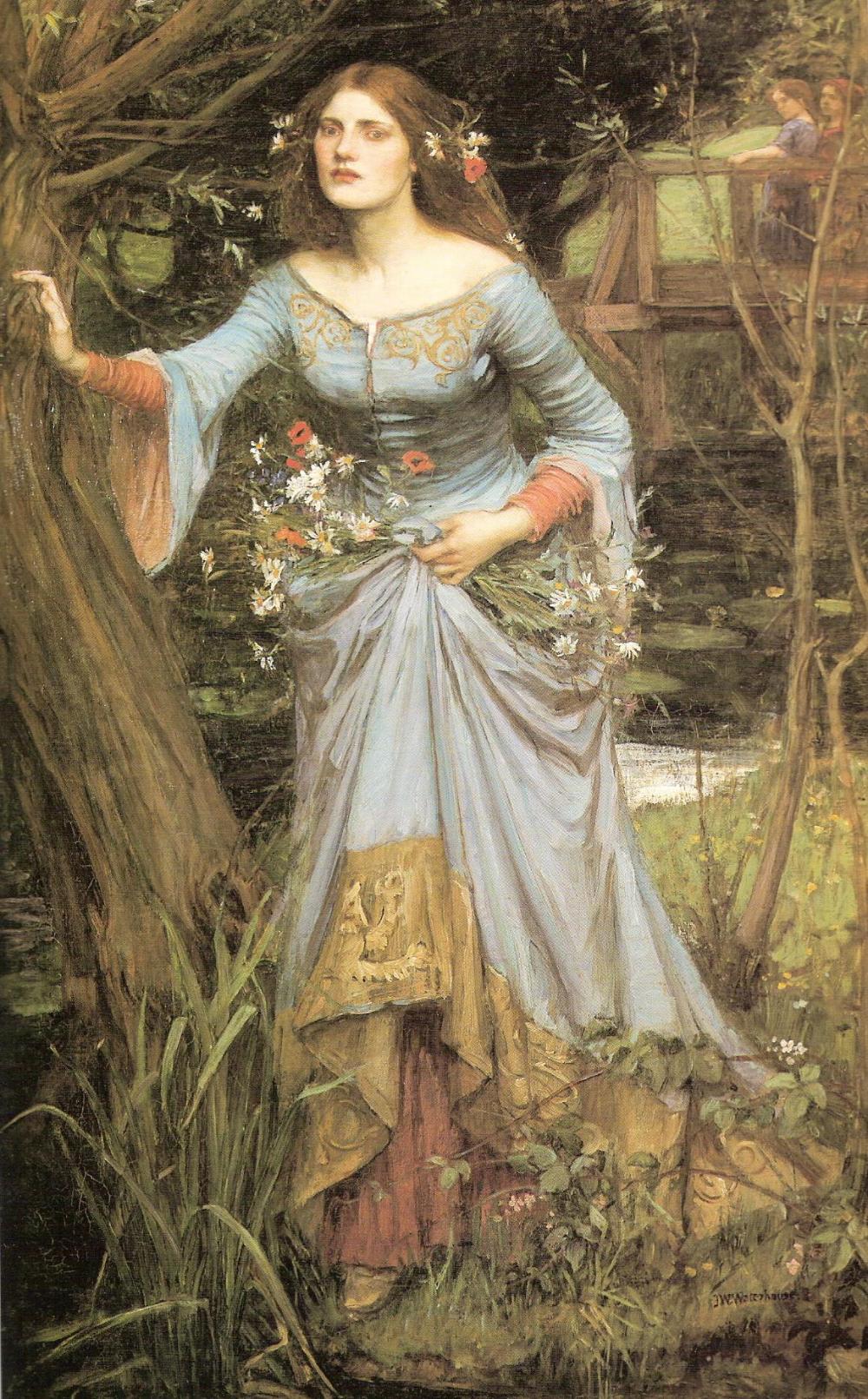 Ophelia 1910 - John William Waterhouse – Wikipédia, a ...