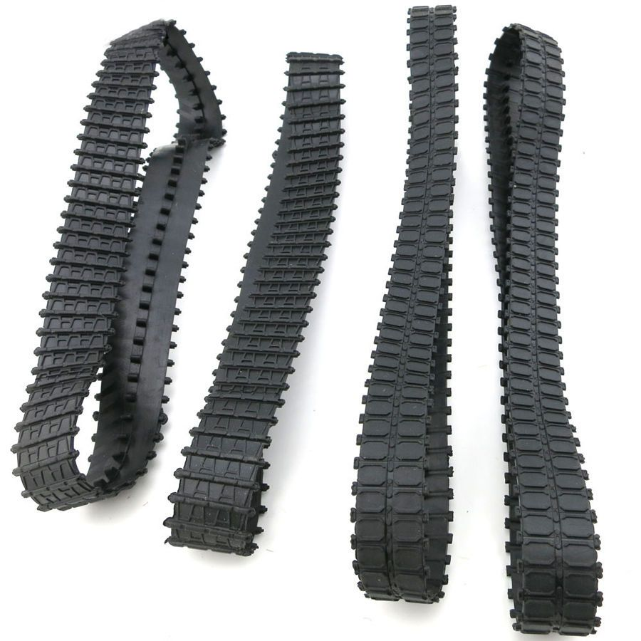 2x DIY Assembly Plastic Tank Chain Track Accessory RC Crawler Replacement