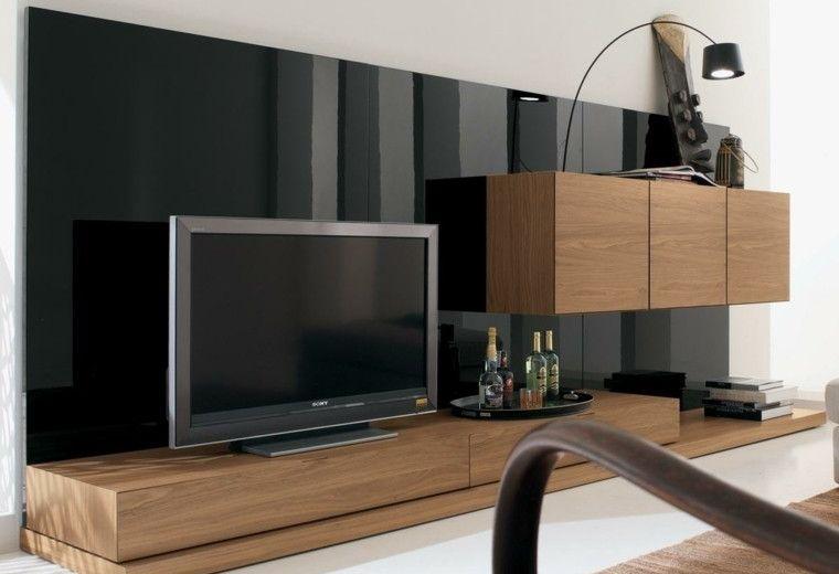 Muebles para tv, 50 propuestas creativas y modernas. | muebles para ...
