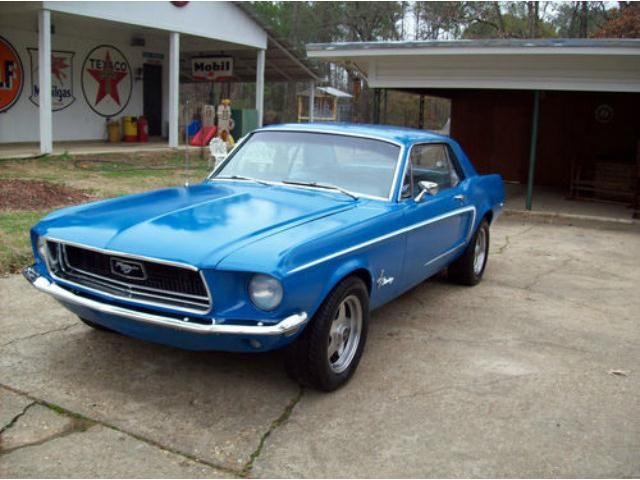 ford mustang v8 coupe 68 cars for sale - autoscout24 | my dream cars