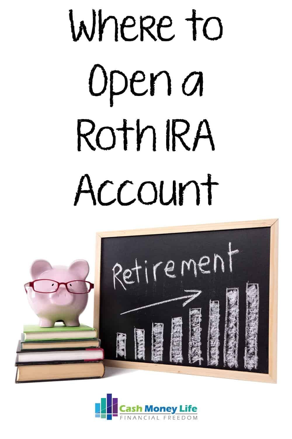 Best Places To Open A Roth Ira Account With Images Ira