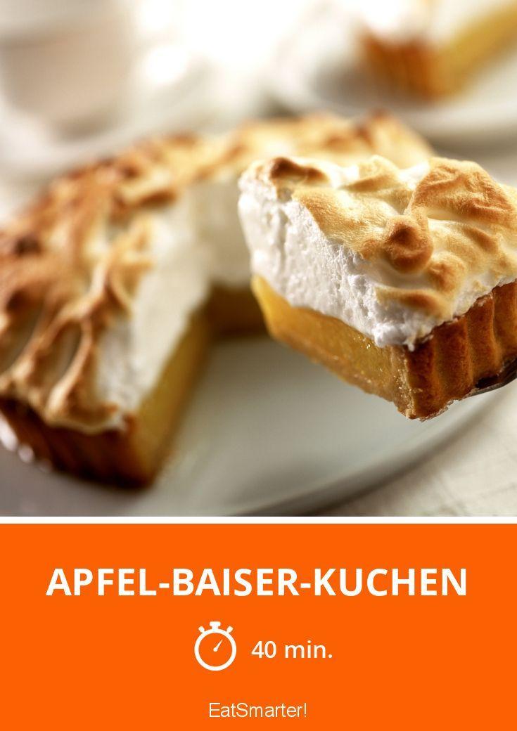 Apfel Baiser Kuchen Recipe Obstkuchen Pinterest
