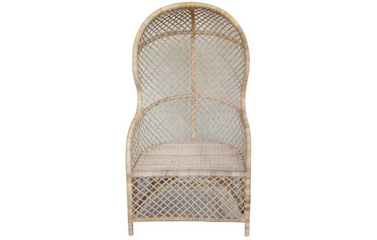 Rattan Canopy Chair // Birch // Beachy  sc 1 st  Pinterest & Rattan Canopy Chair // Birch // Beachy | Products | Pinterest ...