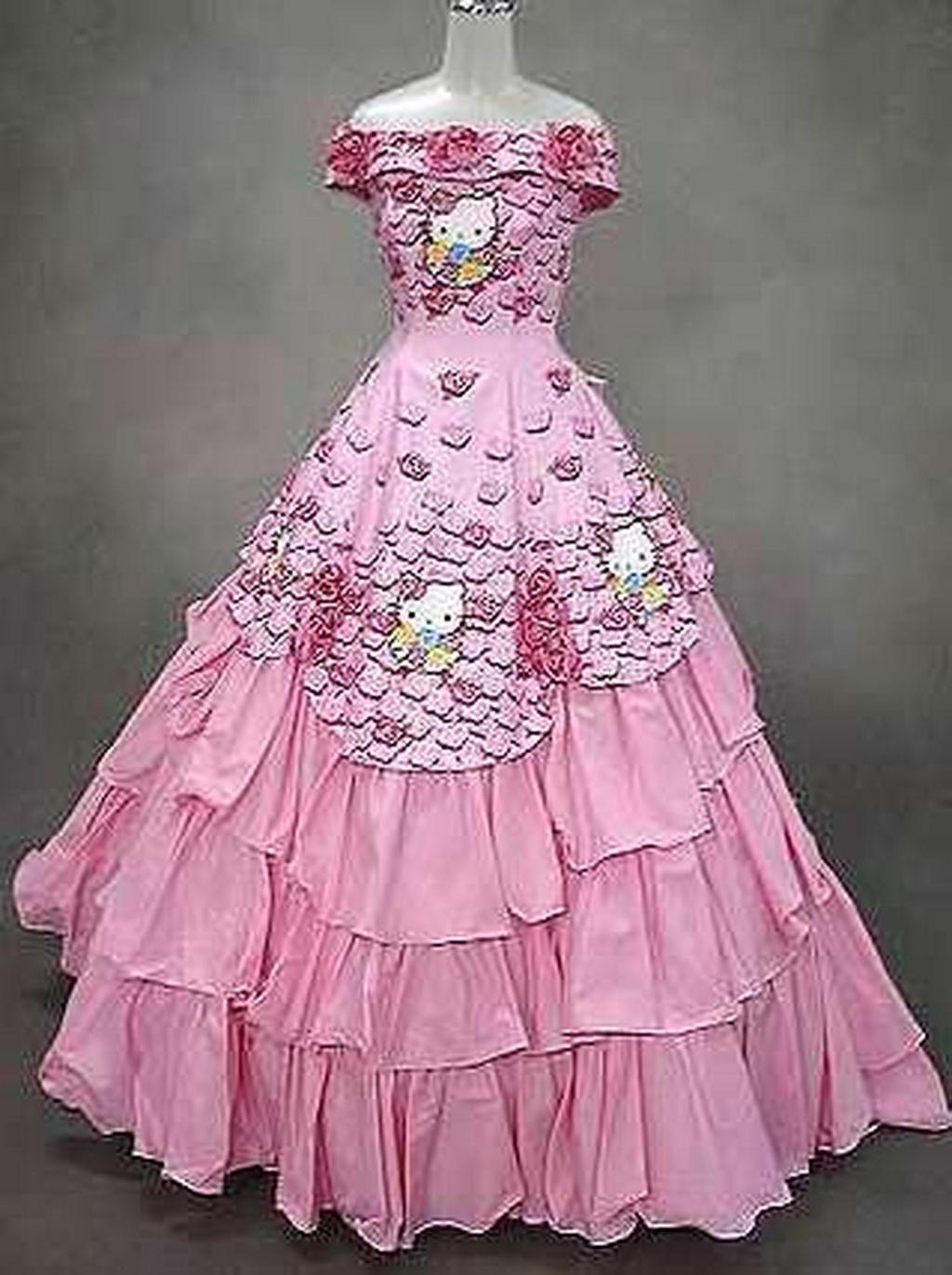 Hello Kitty Wedding Dress | WEDDINGEXPLORER | lucy ortega ...