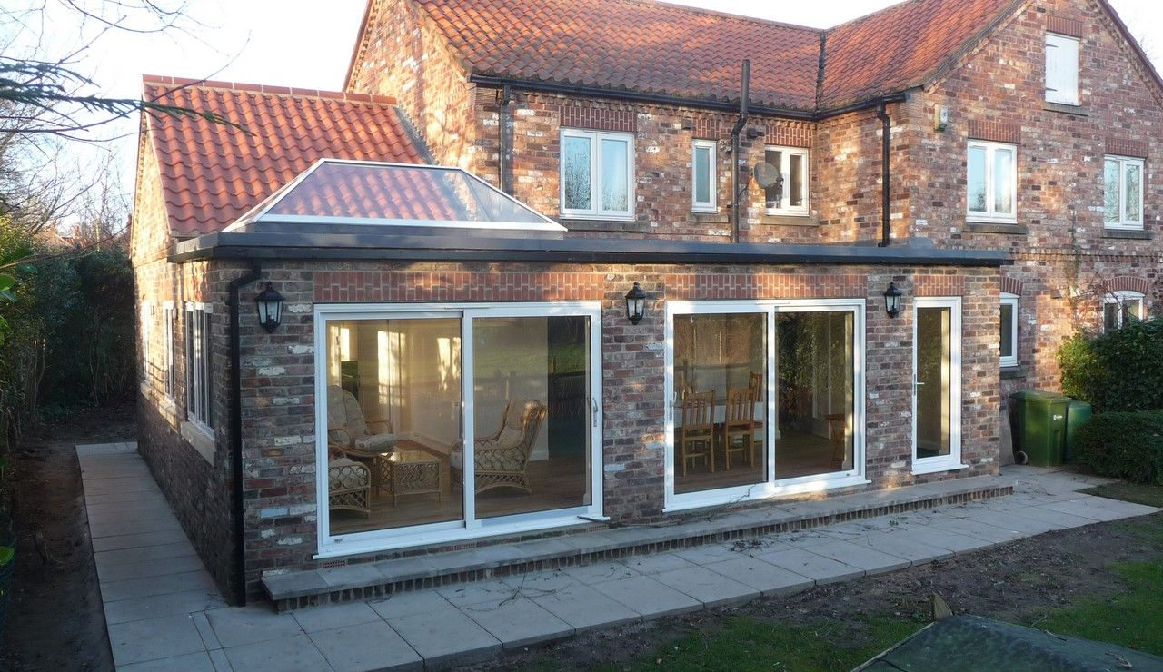 Best Prospect Design Wrap Around Extension Flat Roof 400 x 300