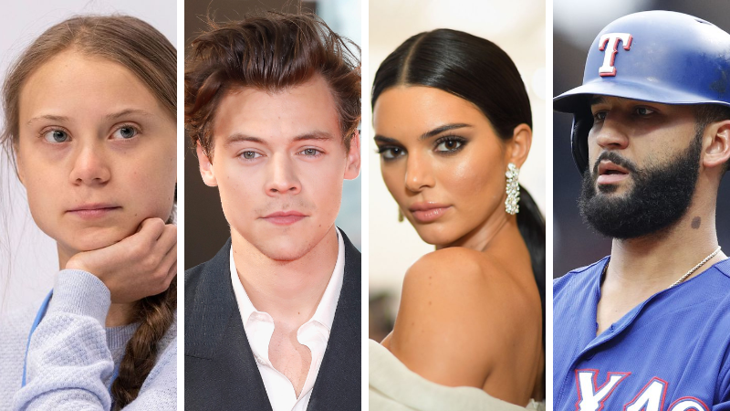 Top 40 People, Places & Things for 12/12/2019 #harrystylesandkendalljenner