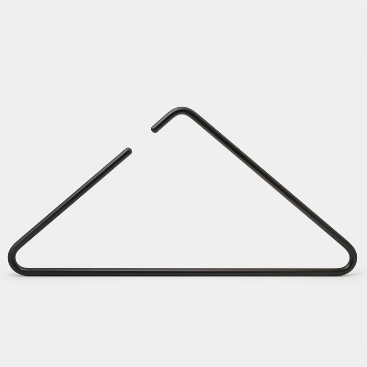 TIC 6kg Small Brass Plated Framing Picture Triangles - 25 Pack Triangle hangers for pictures