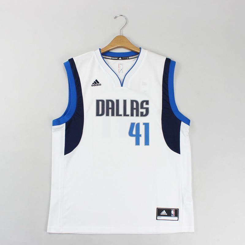 5975577b5b camiseta Regata Adidas masculina NBA Dallas Mavericks Nowitzki Branca
