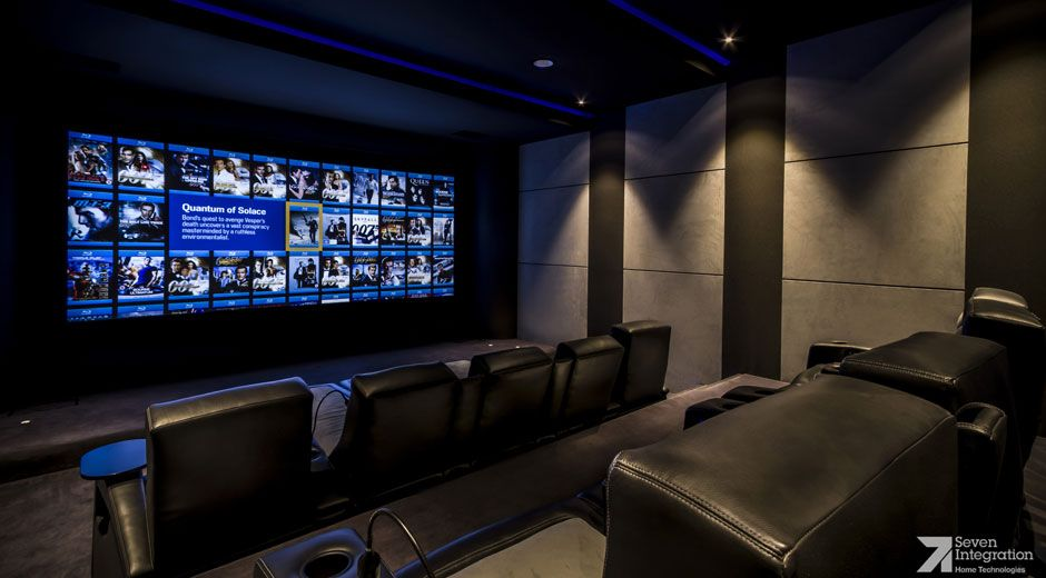 Home Theater Design Company Delectable Inspiration