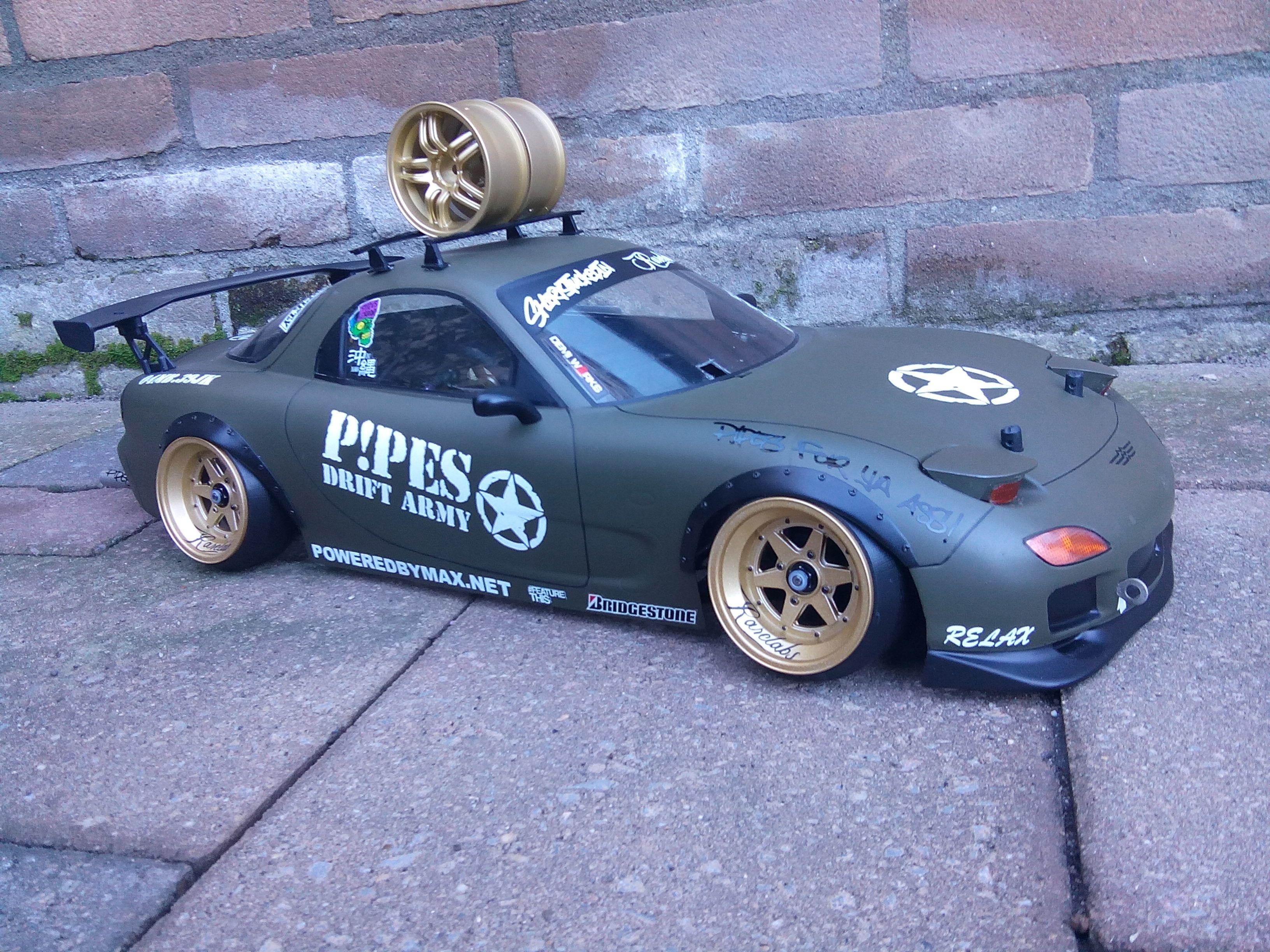 Tamiya FD3S P!PES Drift Army.