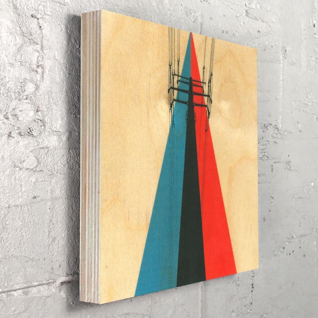 Power Lines - Industrial Urban Graphic Design Art Wall Decor ...