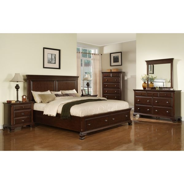 Torino 5-piece Bedroom Set - Overstock™ Shopping - Big Discounts on ...