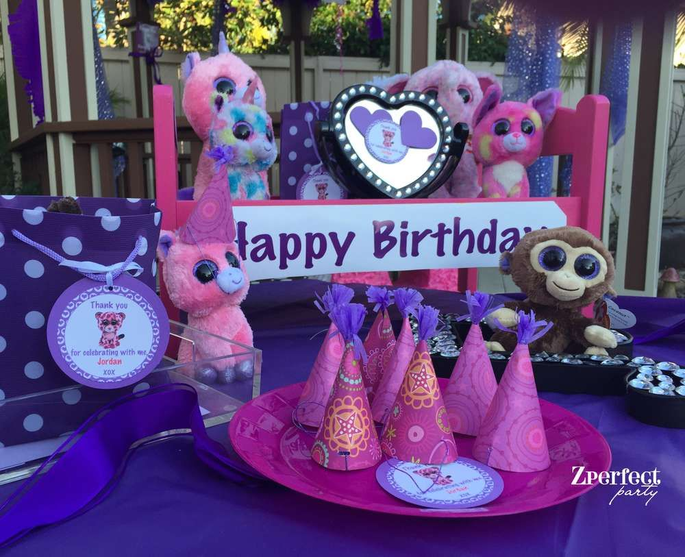 Beanie Boo Birthday Party Ideas | Minis, Cumple y Fiestas