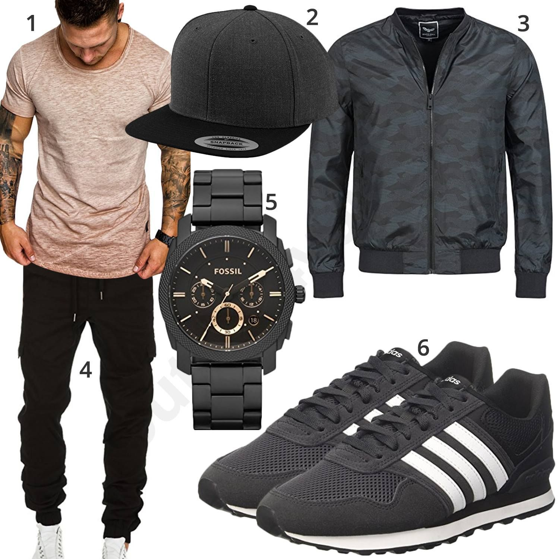 Lässigen Stil Adidas Originals Schwarz Gold Weiß Herren