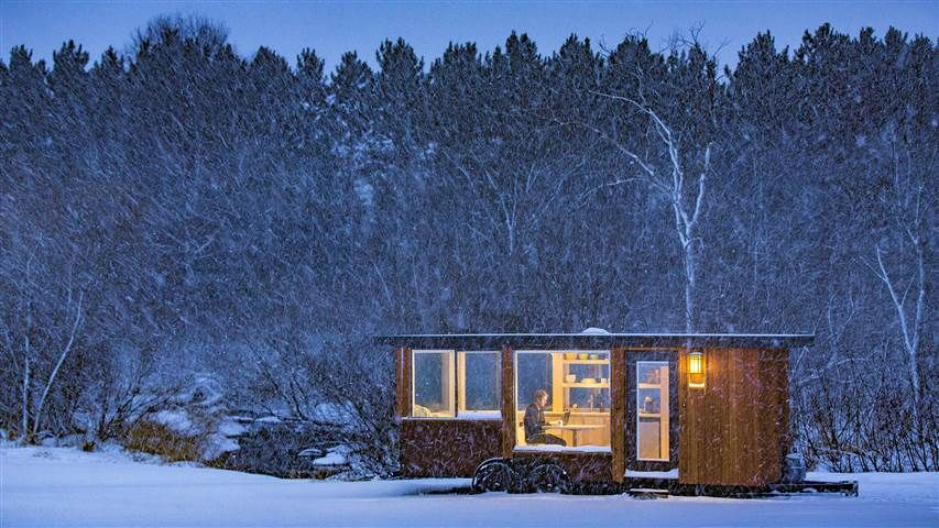 Small home, big views! See inside this stunning tiny home
