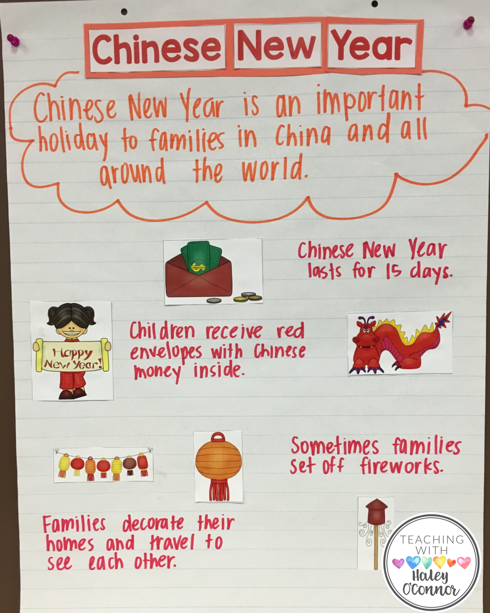 Celebrating the Holidays Chinese new year activities