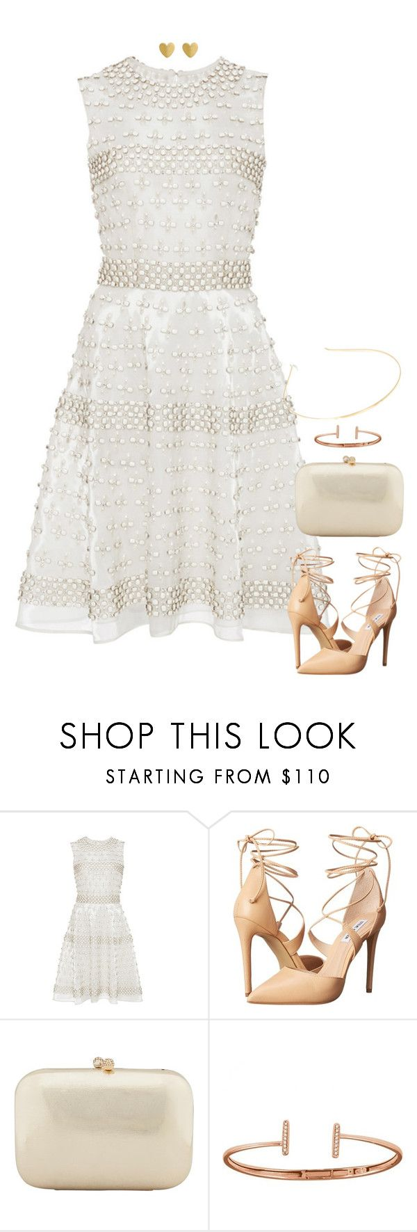 """Insensitive"" by xoxomuty ❤ liked on Polyvore featuring Naeem Khan, Steve Madden, Serpui and Allurez"