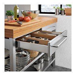 IKEA - RIMFORSA, Werkbank, Zusätzliche Aufbewahrung, Abstell- und ...