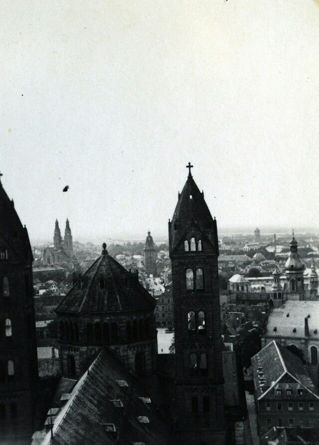 Speyer-cathedral, 1931.