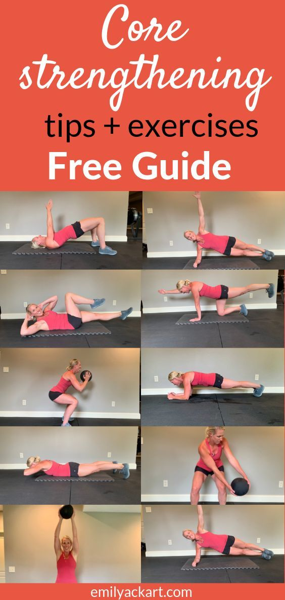 Exercises to strengthen your core. Click through for your ...