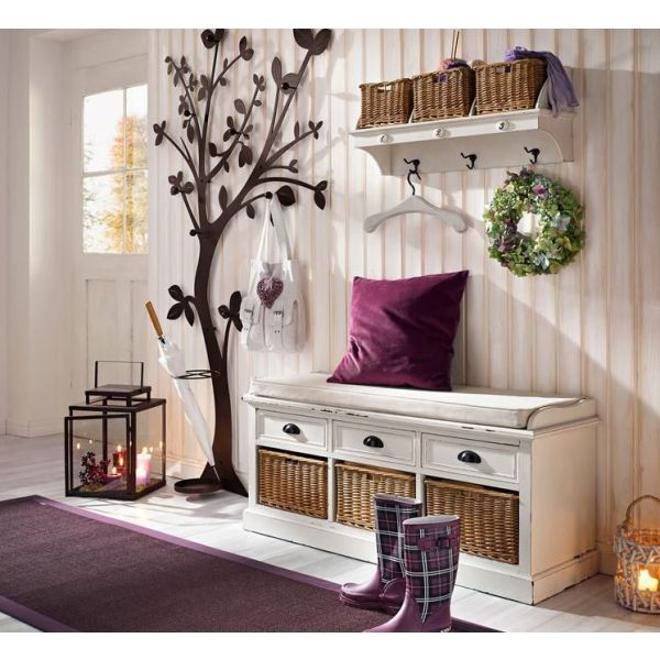 banc d 39 entr e avec rangement recherche google hall dentree pinterest. Black Bedroom Furniture Sets. Home Design Ideas