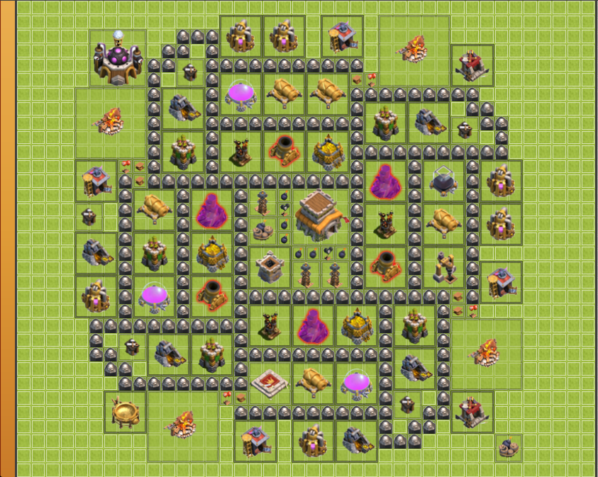 Th 8 Clash Of Clans Trophy Base Google Search Clash Of Clans Clan Clash Of Clans Free