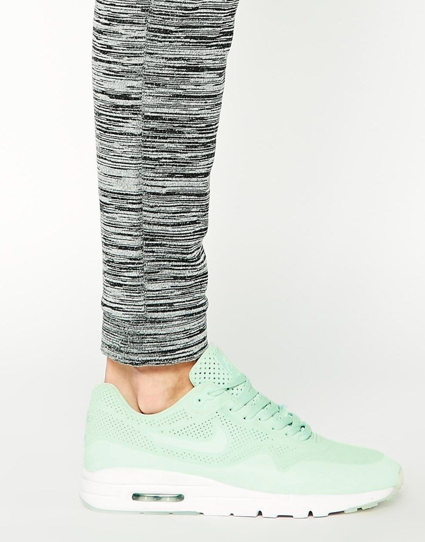 Nike Air Max Ultra Moire Green Trainers Wear Shoes I