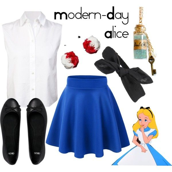 Undefined Disney Princess Outfits Alice In Wonderland Outfit