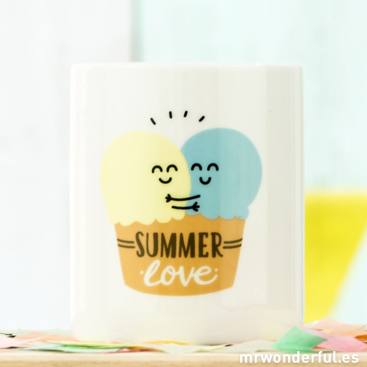 "È un amore! Tazza ""Summer love"" (ENG)"