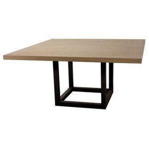Table haute de salle manger zoe carr e id es pour la for Table salle a manger carree