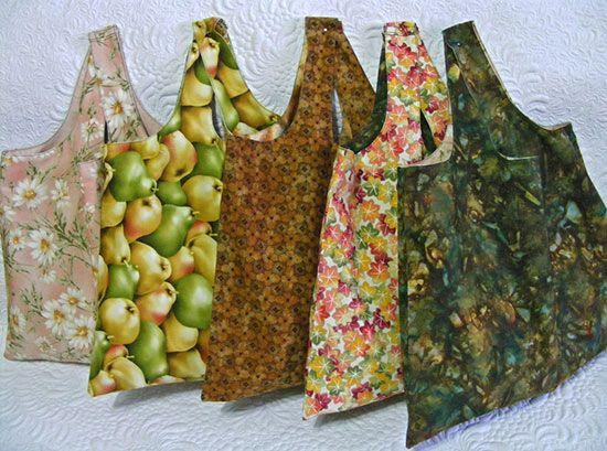 Shopping Bag Tutorial | Körbchen und Nähen