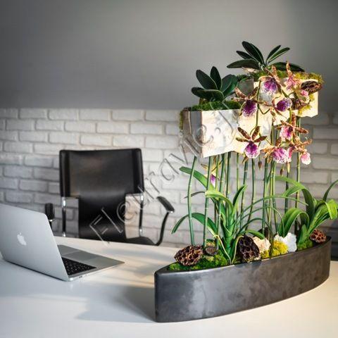Création florale artificielle haut de gamme design unique !   www.fleuravie.fr
