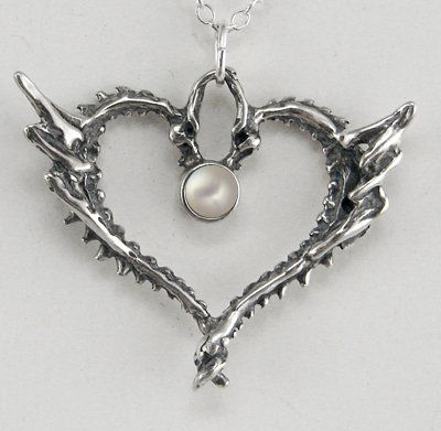 Special dragonheart pendant in sterling silver with pearl made in special dragonheart pendant in sterling silver with pearl made in america the silver dragon pendant mozeypictures Gallery