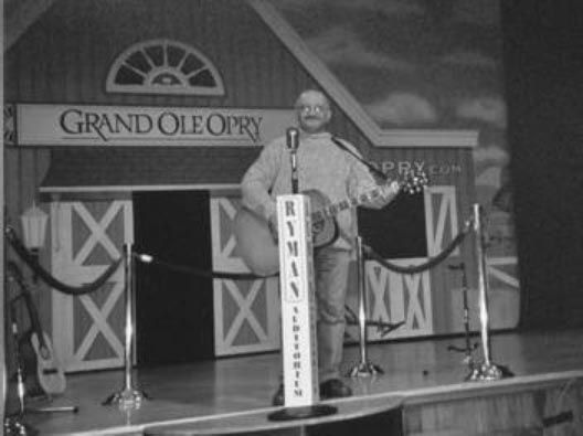 Image result for scene at the original grand ole opry