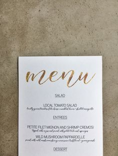 Menu Templates Free Microsoft Prepossessing Free Download Gold Menu Template  Simple Weddings Menu Templates .