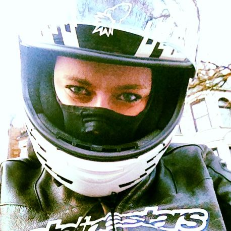 Be yourself...whatever you may be. Alpinestars lady rider