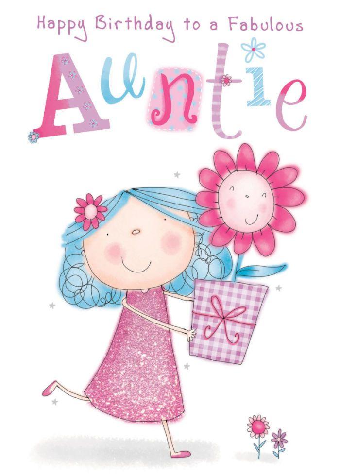 Tante Gefeliciteerd Birthday Verjaardag Gefeliciteerd En