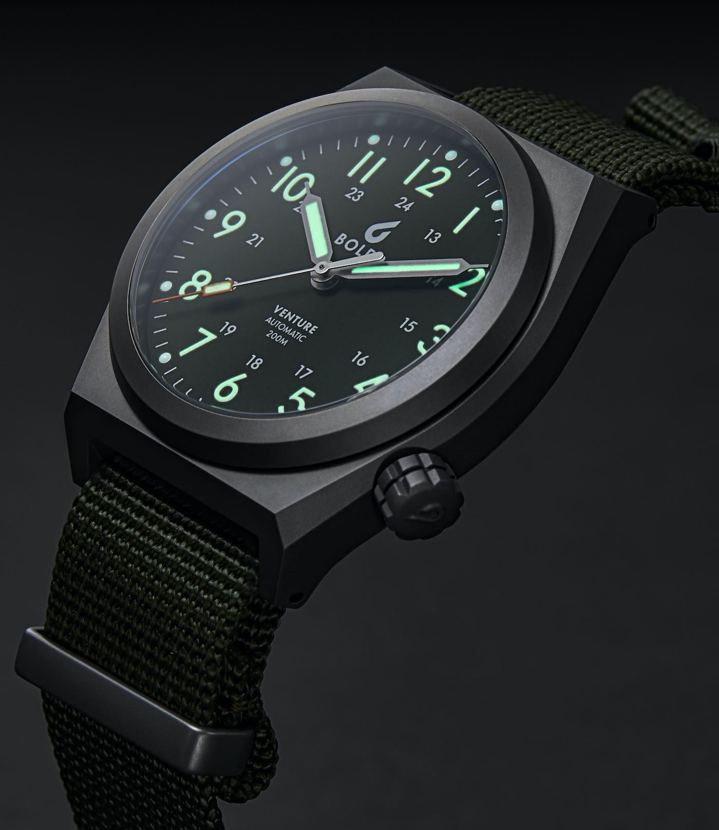 Titanium Boldr Venture Watch Built For Extreme Use In The Field Ablogtowatch Field Watches Mens Watches Popular Watches