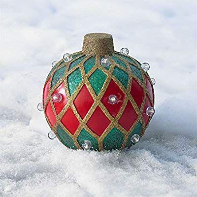 Amazon Com Brylanehome Small Pre Lit Outdoor Ornament 400 x 300