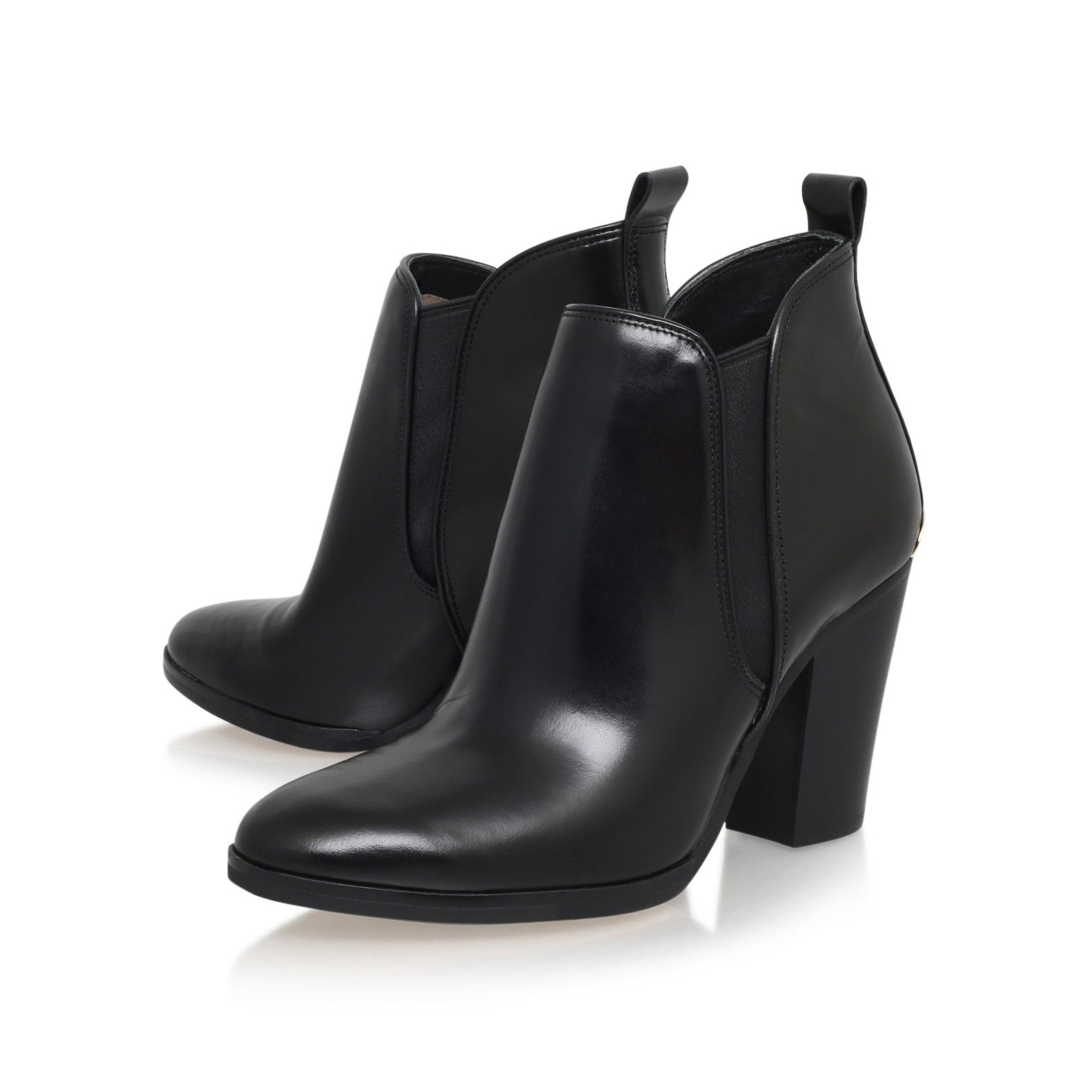 6c9e21d74cee brandy bootie black mid heel ankle boots from Michael Michael Kors ...