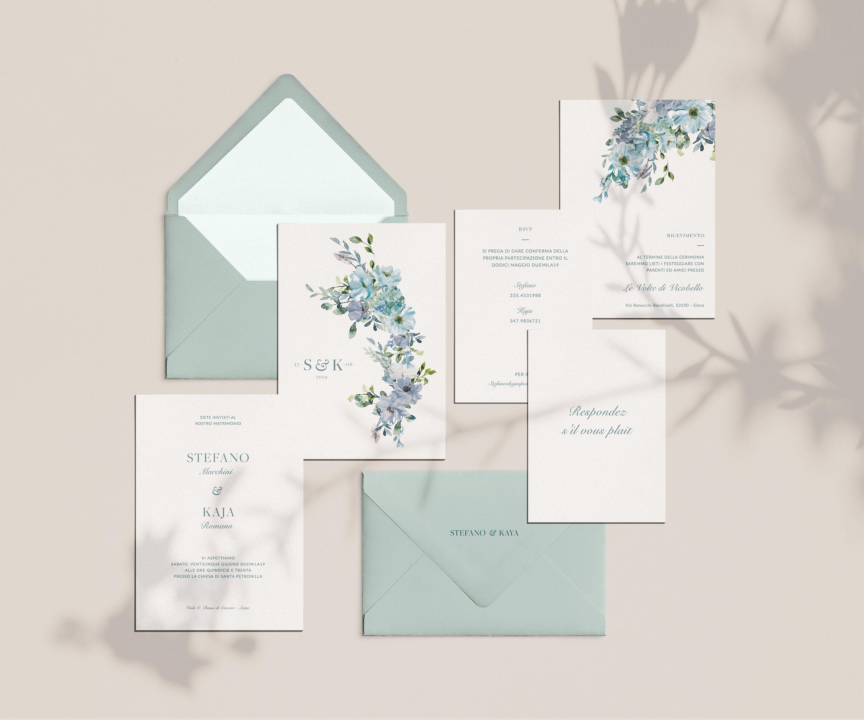 Partecipazioni Matrimonio On Line Low Cost.Partecipazioni Di Matrimonio Mod Kaya Suite Inviti Nozze
