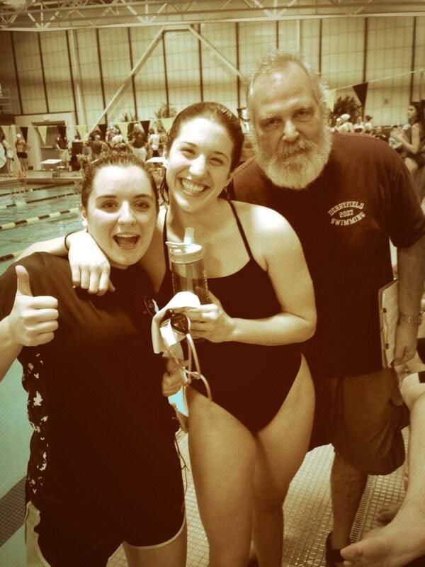 Molly '14 breaks the 500 Free DS record!