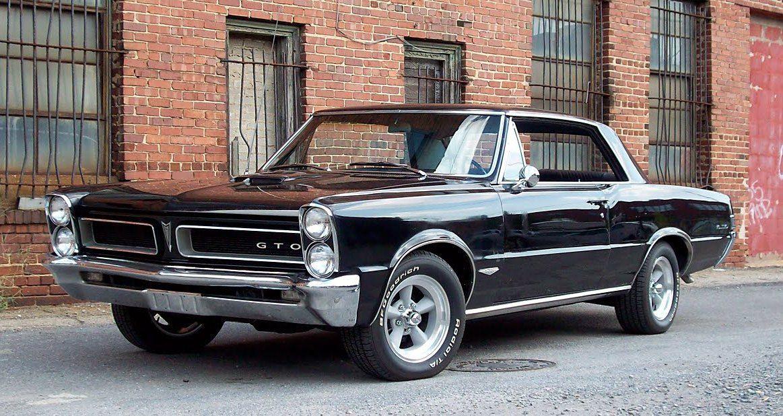Stunning Black 1965 Gto Pontiac Gto 1965 Pontiac Gto Gto