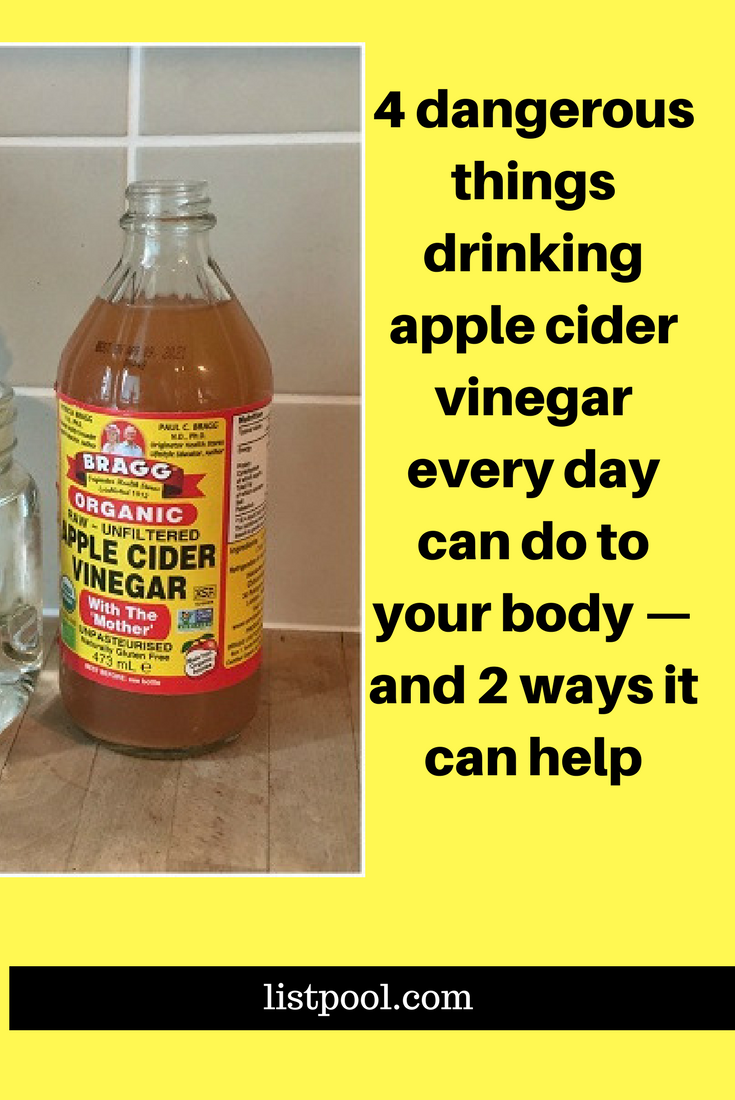 beneficial or not apple cider vinegar is still an acid and it can be rough on your insides i. Black Bedroom Furniture Sets. Home Design Ideas