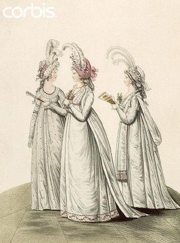 Lady's Evening Dresses, 1795
