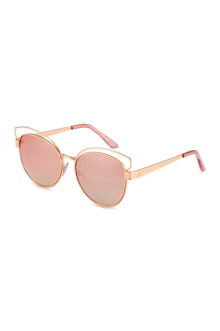 24e3121cc99336 Lunettes de soleil - Rose doré - FEMME   H M FR 1   Shopping ...