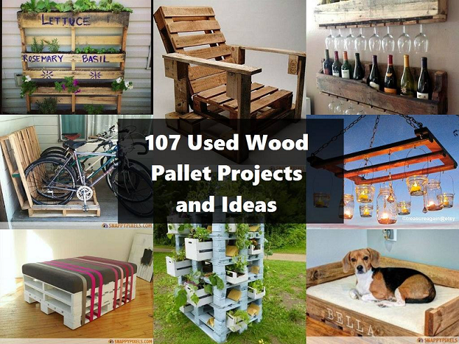 pallet project ideas   Creative Shit   Pinterest   Palets, Hechos y ...