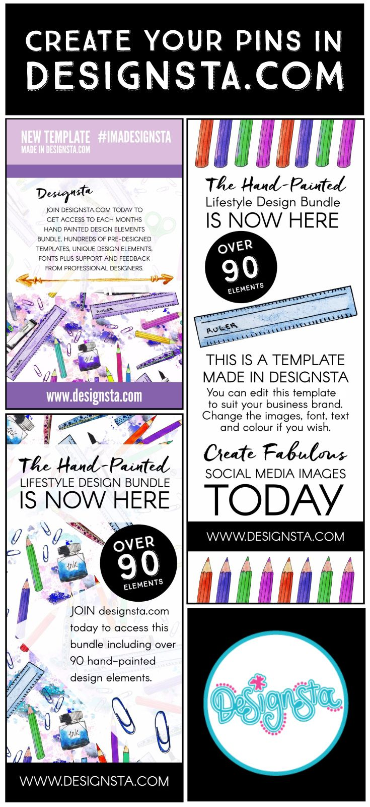 Create fabulous Pinterest Pins in Designsta.com. We have all of the ...